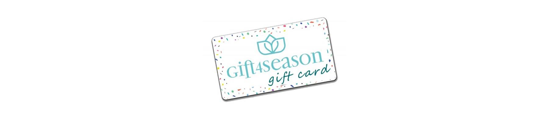 Gift Card Gift4season